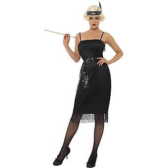 Flapper Kostüm, UK Kleid 20-22