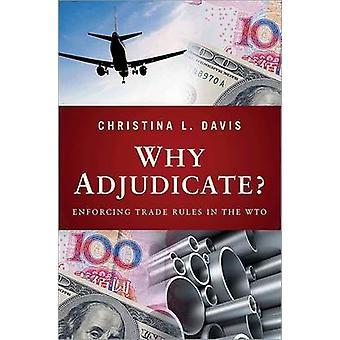 لماذا الفصل؟ -تطبيق القواعد التجارية في منظمة التجارة العالمية من كريستينا ل Dav