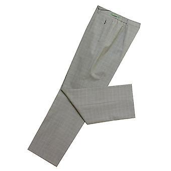 GARDEUR Trousers KAREN 620601 Black With White