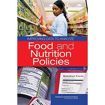 Amélioration des données pour analyser les politiques alimentaires et nutritionnelles par Panel on Enh