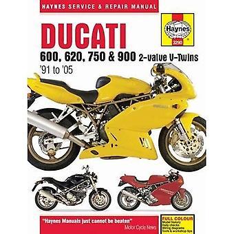 Ducati 600, 750 & 900 2-Valve V-Twin Service en reparatie handleiding (Haynes Service en reparatie handleidingen)