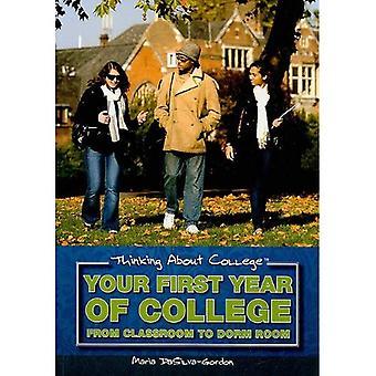 Uw eerste jaar van de Universiteit: uit klas naar slaapzaal