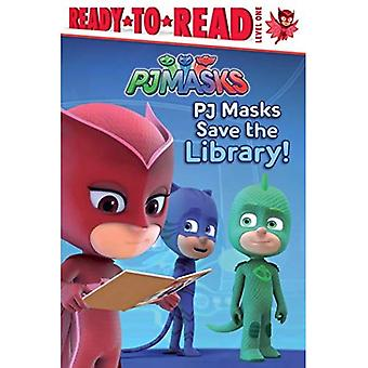 PJ Masks Save the Library! (Ready-to-Read. Level 1)