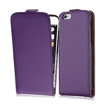 Cadorabo tapauksessa Apple iPhone 6 / iPhone 6S tapauksessa tapauksessa kansi - Puhelin tapauksessa läppä suunnittelu sileä faux nahka - Case Cover suojakotelo tapauksessa kirja taitto tyyli