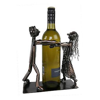 Weinflasche Halter Tangotänzer