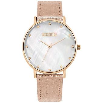 Missguided | Ladies Pink Leather Strap | MG014RG Watch