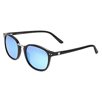 Sixty One Champagne Polarized Sunglasses - Black/Blue