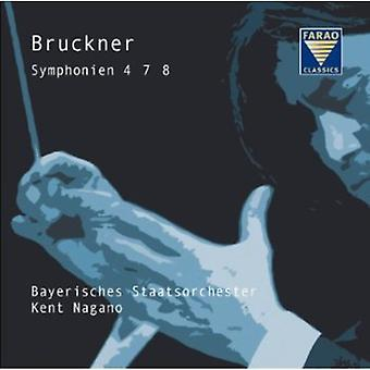 Bruckner - Symphonies 4 7 8 [CD] USA import