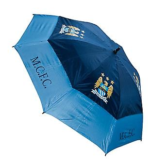 Manchester City FC Double Canopy Golf Umbrella