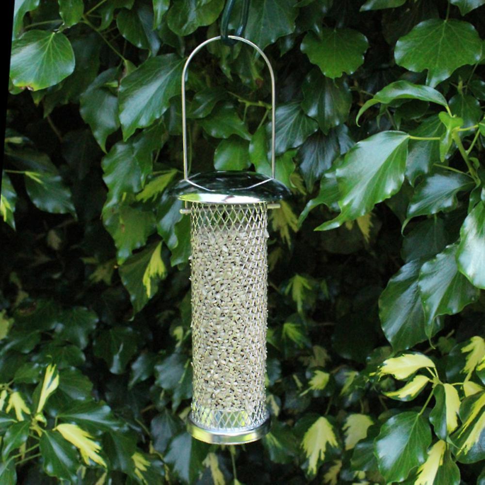 Natures Market Sunflower Heart Metal Wild Bird  Feeder
