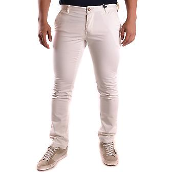 At.p.co Ezbc043004 Men's White Cotton Pants