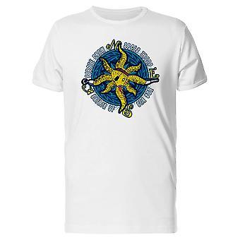 Piraten-Octopus Crew T-Shirt Herren-Bild von Shutterstock