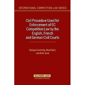 Burgerlijk procesrecht gebruikt voor handhaving van het communautaire mededingingsrecht door de Engelse Franse en Duitse burgerlijke rechtbanken door Cumming
