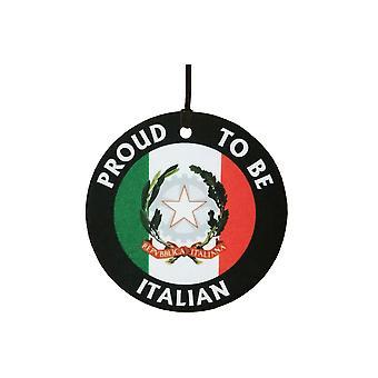 Proud To Be Italian Car Air Freshener
