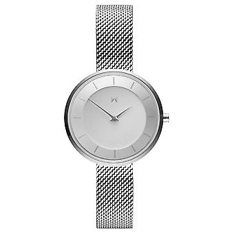 MVMT MOD S1 Women's Watch wristwatch stainless steel FB01-S