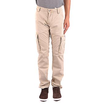 La Martina Ezbc259009 Men's Beige Cotton Pants