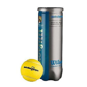 Wilson Australian Open Tennis Ball (3-Pack)