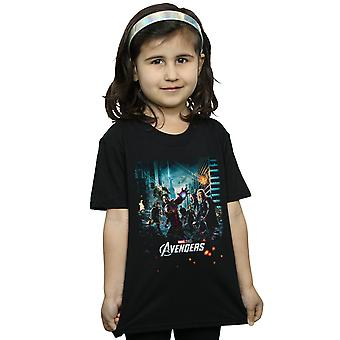 Marvel Studios Girls The Avengers Poster T-Shirt