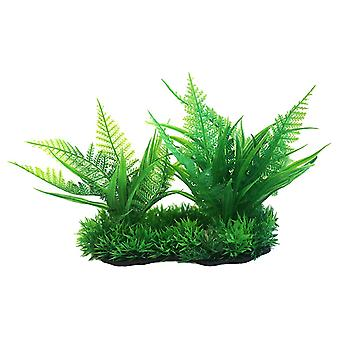 Betta Choice Green Foreground Plastic Plant 15cm