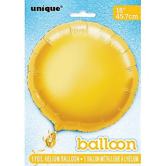 Unique Party 18 Inch Round Foil Balloon (Pack of 5)