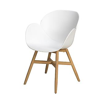 Plage7 - France Chaise Flower Power Garden (flower Power Garden Chair)  Blanc