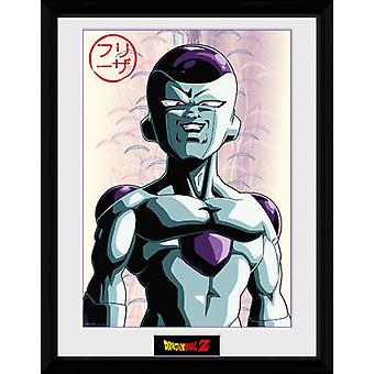 Dragon Ball Z Frieza inramade Collector Print 40x30cm