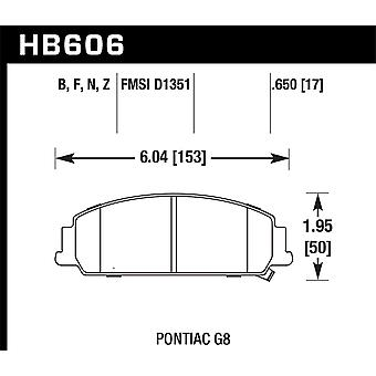 Hawk ydeevne HB606Z. 650 PC