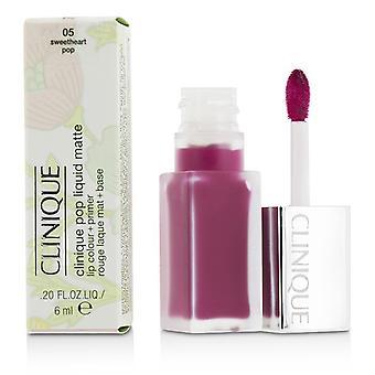 Clinique Pop Liquid Matte Lip Colour + Primer - # 05 Sweetheart Pop 6ml/0.2oz