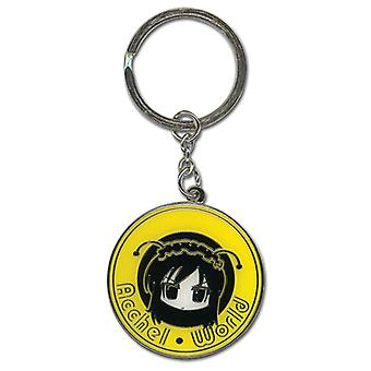 Key Chain - Accel World - New Kuroyukihime Face Round Anime ge36705