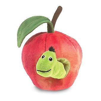 Hand Puppet - Folkmanis - Worm in Apple New Toys Soft Doll Plush 3123