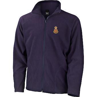 Queens Lancashire regiment-licenseret British Army broderet letvægts Micro fleece jakke