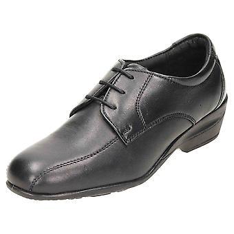 Dr Keller Leather Lace Up Low Heel Shoes
