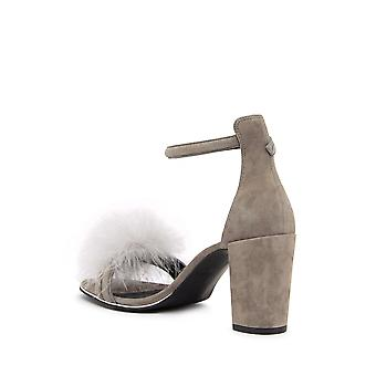 Kenneth Cole New York Womens Lex3 Leather Open Toe Special Occasion Slingback...