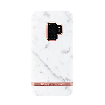Richmond & Finch shells for Samsung Galaxy S9 Plus-White Marble