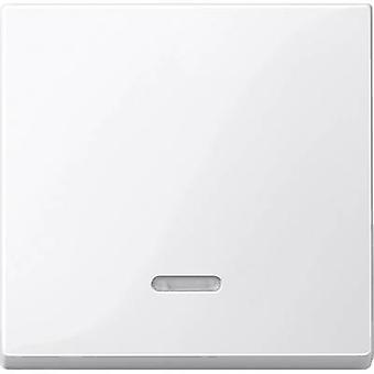 Merten Cover Control switch System M, 1-M, M-Smart, M-Plan, M-Creativ Polar white glossy 436019