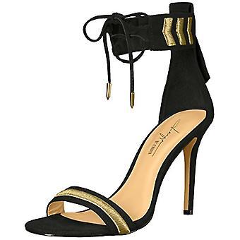 Daya door Zendaya Womens Nola peep toe speciale gelegenheid enkelbandje sandalen