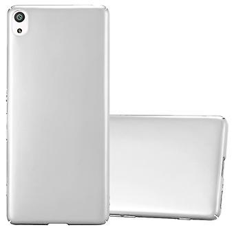 Cadorabo-etui til Sony Xperia XA sag Cover-hardcase plastik telefon sag mod ridser og bump-beskyttende tilfælde kofanger Ultra Slim back case hårdt dæksel