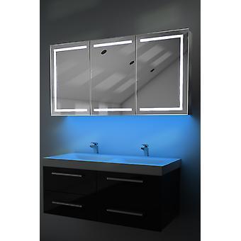 Demist kabinet LED világítás alatt, érzékelő & belső borotva k380w