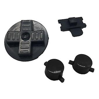 Replacement button set a b d-pad power switch for nintendo game boy original dmg-01 - black