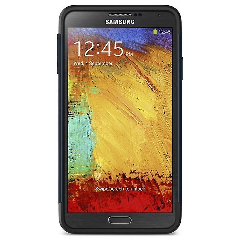 Samsung Galaxy Note 3 slim armor case cover navy blue