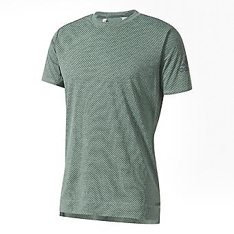 adidas Freelift Chill 2 Mens Fitness Exercise Training Gym T-Shirt Tee Green