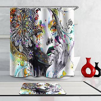 Art Beautiful Girl Shower Curtain