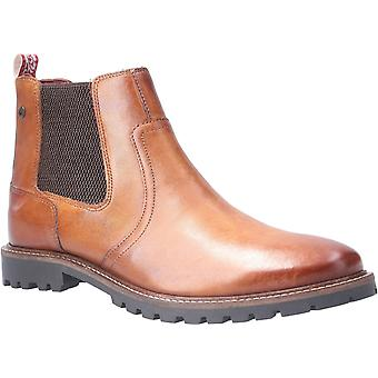 Base London Mens Wilkes Washed Pull On Chelsea Boot