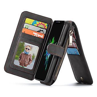 Case For Iphone X Black Multifunction Portfolio