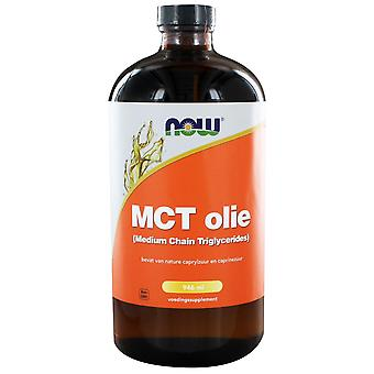 MCT Olie (Medium Chain Triglycerides) (946 ml) - NOW Foods