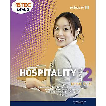 BTEC Level 2 First Hospitality Student Book by Tracay Mead