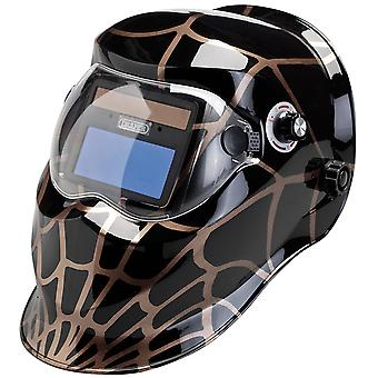 Solar Powered Auto-Varioshade Welding and Grinding Helmet - WSP687