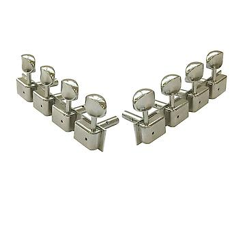 Kluson Traditional 4 Aside Tuners For Lap Steel Guitars - Nickel