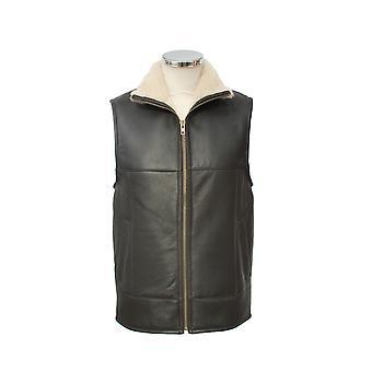 Eastern Counties Leather Mens Harvey Sheepskin Gilet