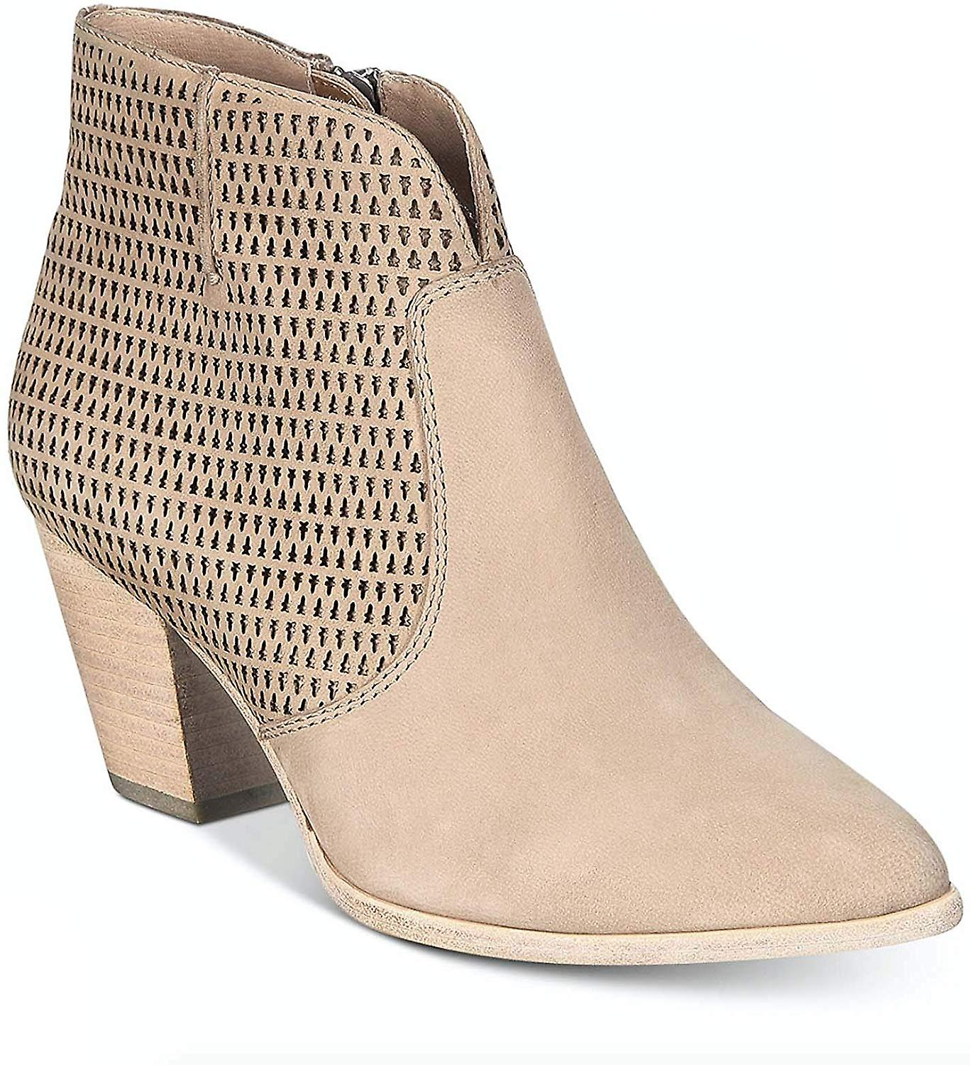 Frye Womens Jennifer Suede Ankle Booties Taupe 11 Medium (B,M)